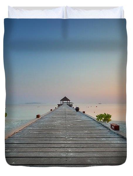 Komandoo Sunrise Duvet Cover