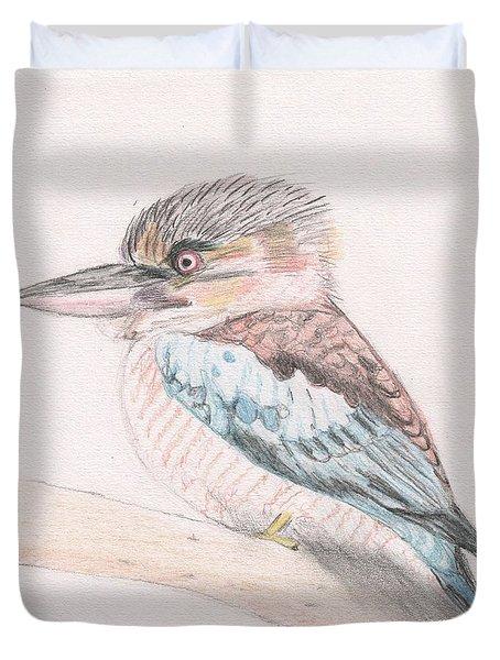 Kookaburra Cuteness Duvet Cover