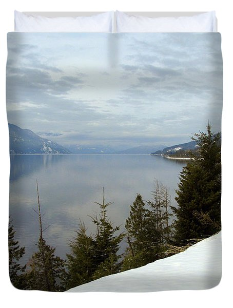 Kootenay Paradise Duvet Cover by Leone Lund