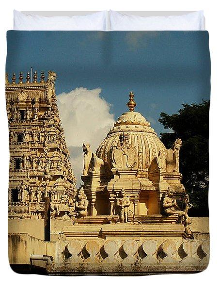 Kote Venkataramana Temple Duvet Cover