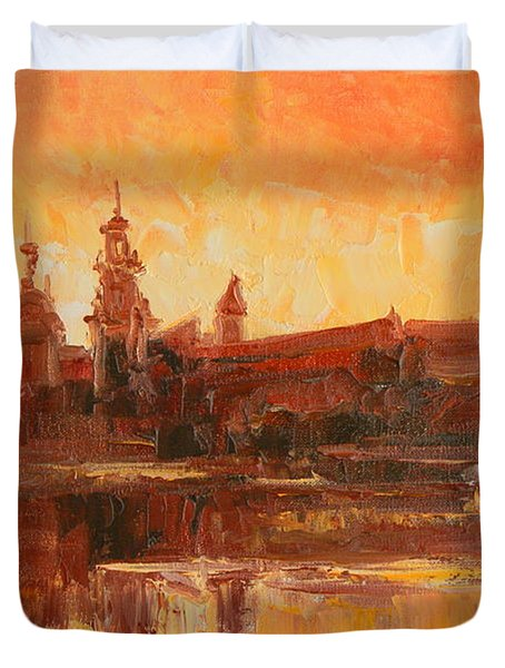 Krakow - Wawel Impression Duvet Cover