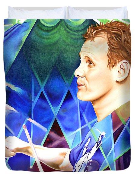Kris Myers Duvet Cover by Joshua Morton