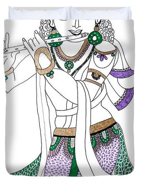 Krishna IIi Duvet Cover