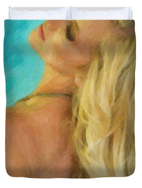 Kristin Duvet Cover by Angela A Stanton
