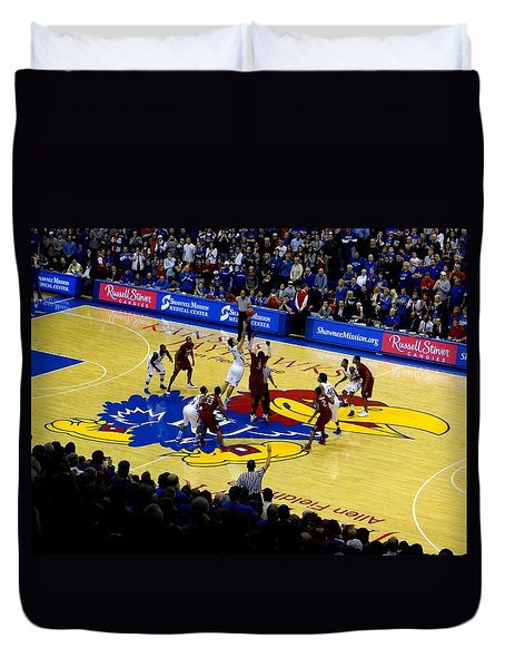 Ku Tip Off Duvet Cover