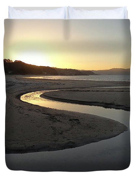 Kuaotunu Sunset Duvet Cover