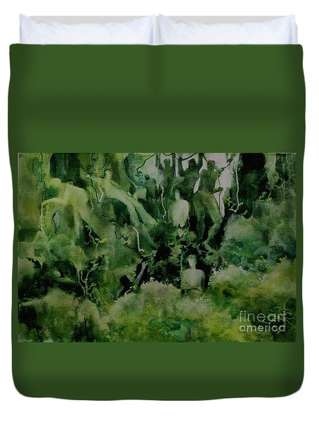 Kudzombies Duvet Cover