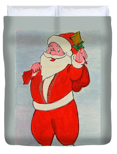 Kurdish Santa Clause  Duvet Cover
