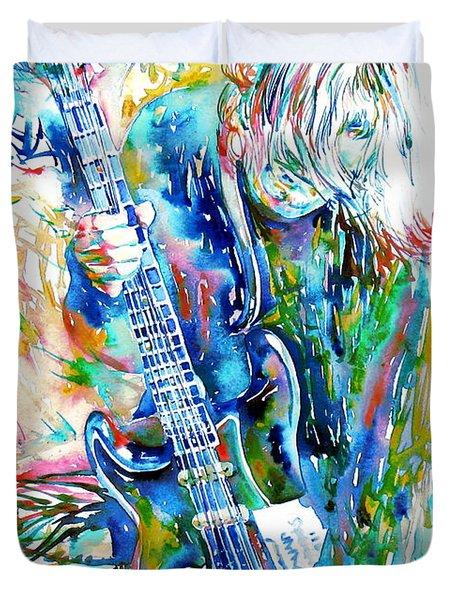 Kurt Cobain Portrait.1 Duvet Cover