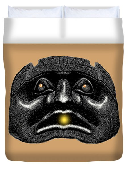 Kwakiutl Speaks Duvet Cover