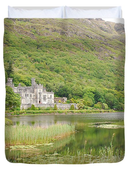 Kylemore Abbey 1 Duvet Cover by Mary Carol Story