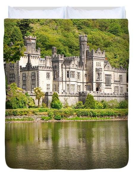 Kylemore Abbey 2 Duvet Cover by Mary Carol Story