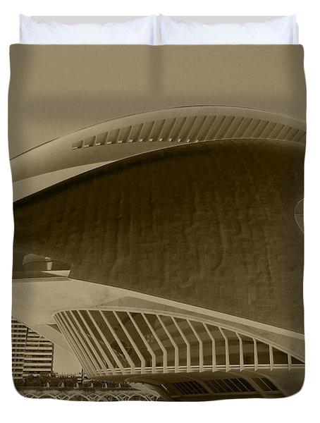 L' Hemisferic - Valencia Duvet Cover