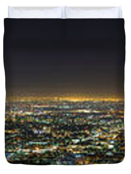 La At Night Duvet Cover