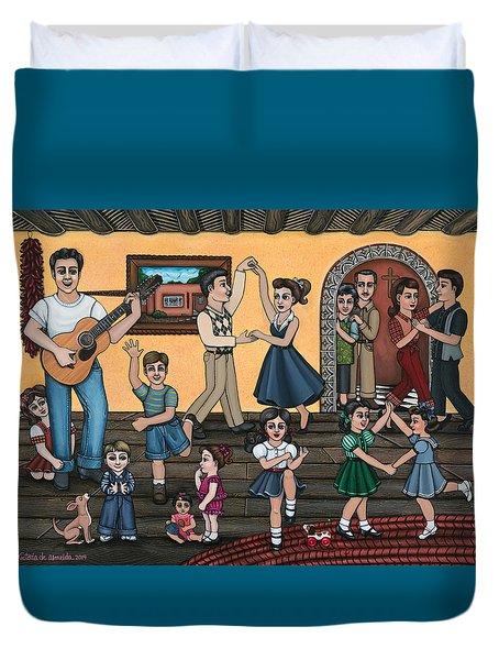 La Bamba Duvet Cover