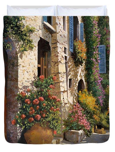La Bella Strada Duvet Cover