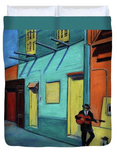 La Boca Morning II Duvet Cover