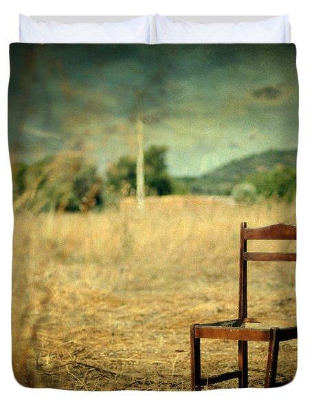 La Chaise Duvet Cover by Taylan Apukovska
