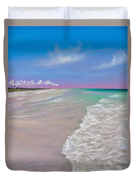 La Costa Duvet Cover by Eve  Wheeler