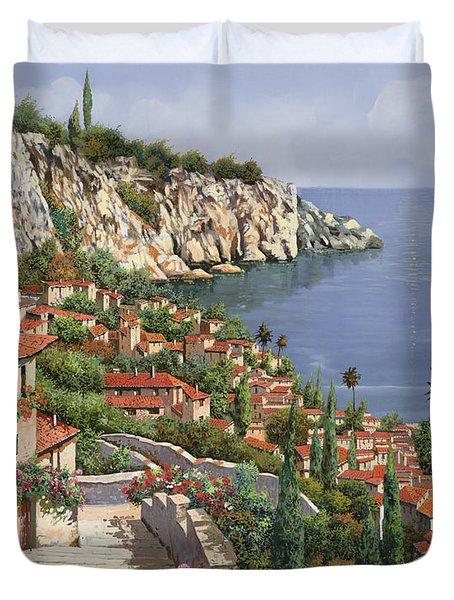 La Costa Duvet Cover by Guido Borelli