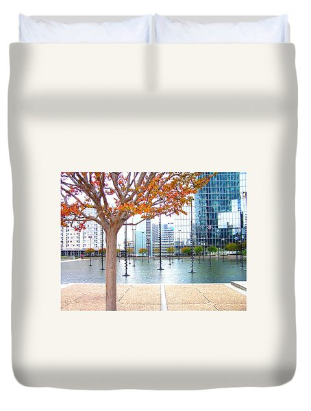 La Defense Duvet Cover
