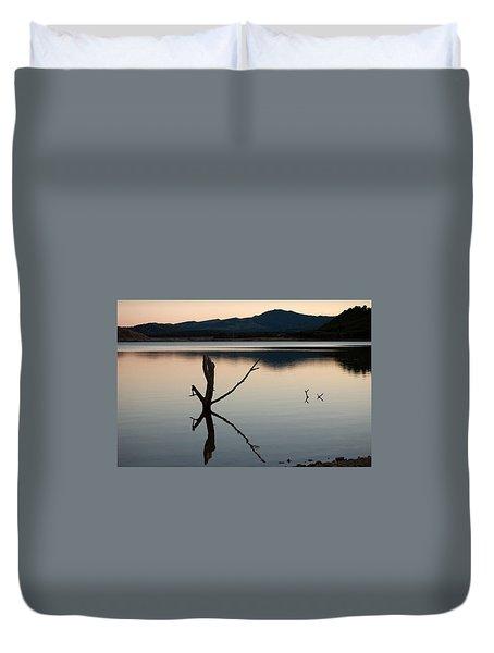 La Estanca-perdiguero - 2 Duvet Cover by RicardMN Photography