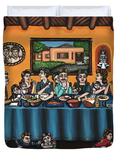 La Familia Or The Family Duvet Cover