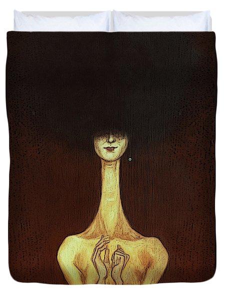 La Femme Fatale Duvet Cover