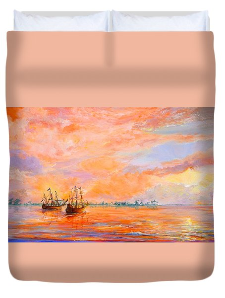 La Florida Duvet Cover