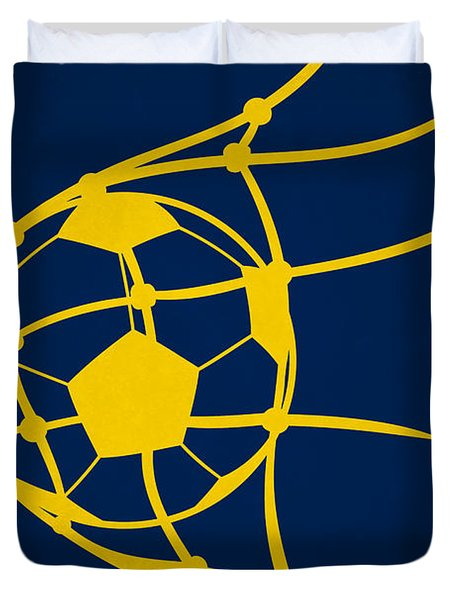 La Galaxy Goal Duvet Cover