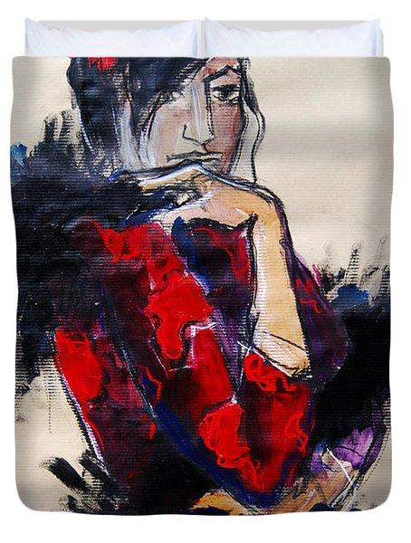 La Gitane - Pia #1 - Figure Series Duvet Cover