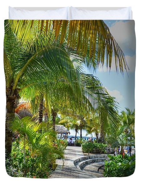 La Isla Bonita Duvet Cover