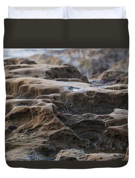 La Jolla Sandstone Duvet Cover