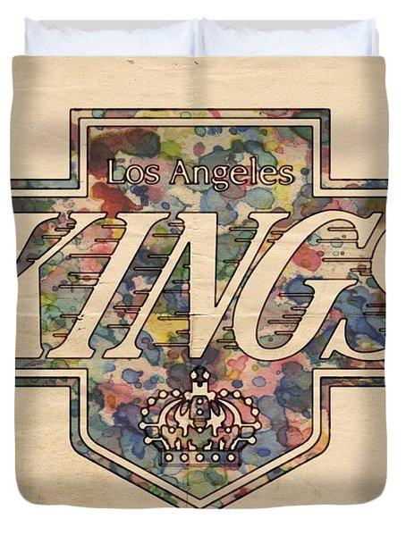 La Kings Vintage Art Duvet Cover