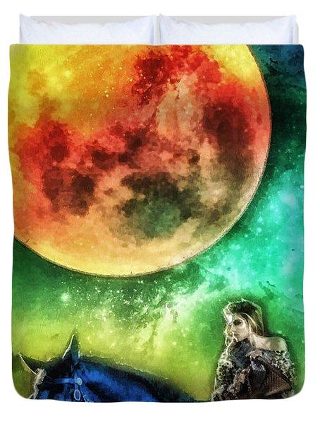 La Luna Duvet Cover