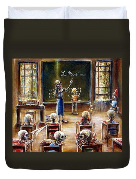 La Maestra Duvet Cover