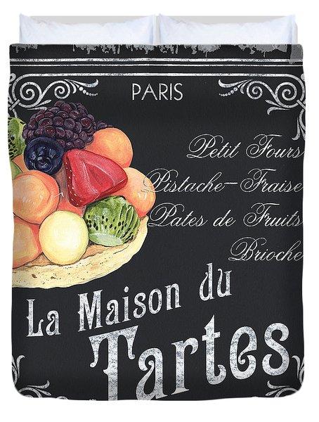 La Maison Du Tartes Duvet Cover
