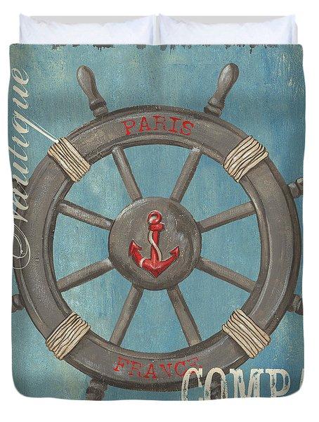 La Mer Compas Duvet Cover
