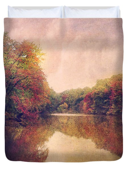 Duvet Cover featuring the photograph La Nature Splendeur by John Rivera