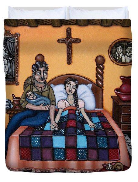 La Partera Or The Midwife Duvet Cover