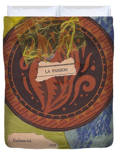 La Passion Duvet Cover
