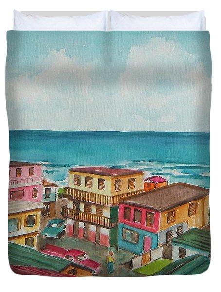 La Perla San Juan Pr Duvet Cover