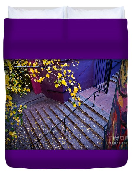 La Placita Village Duvet Cover