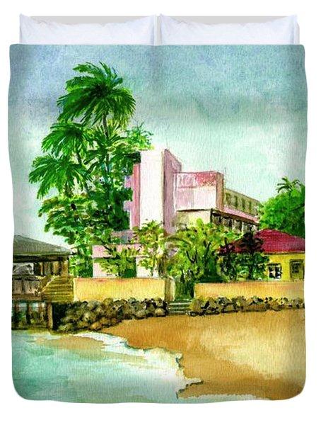 La Playa Hotel Isla Verde Puerto Rico Duvet Cover