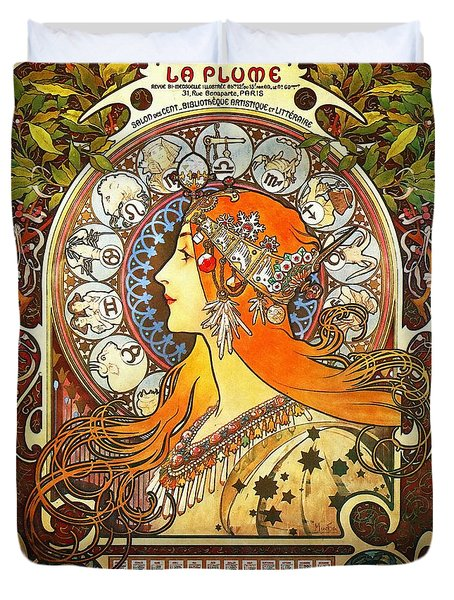 La Plume Zodiac Duvet Cover
