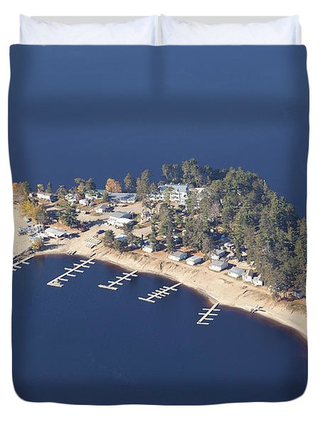 La Pointe A David Duvet Cover