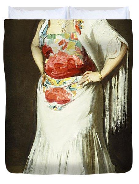 La Reina Mora Duvet Cover by Robert Henri