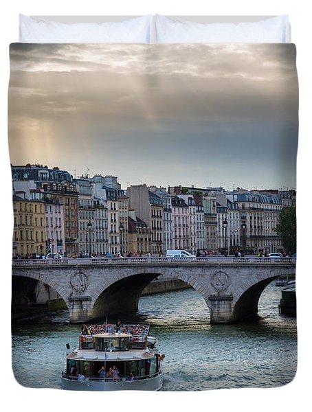 La Seine Duvet Cover by Inge Johnsson