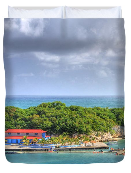 Labadee Duvet Cover