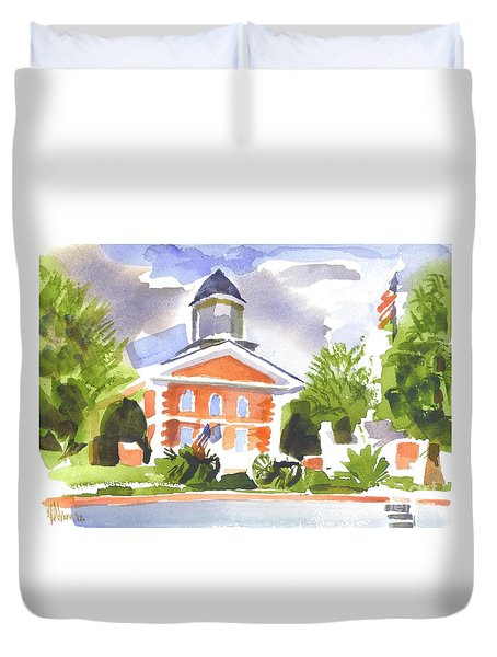 Labor Day Afternoon Duvet Cover by Kip DeVore